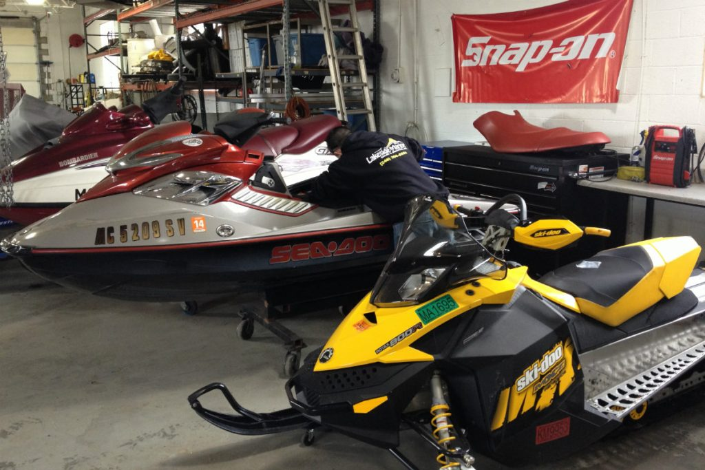 Jet Ski, Boat, & Snowmobile Repair, Boat Docks, Salvage